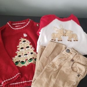 Christmas reindeer outfit